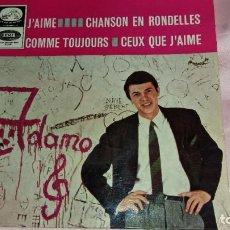 Discos de vinilo: ADAMO - EP SPAIN - VER FOTOS. Lote 207180157