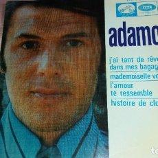 Discos de vinilo: ADAMO - EP SPAIN - VER FOTOS. Lote 207180365