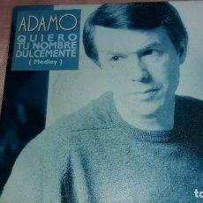 Discos de vinilo: ADAMO - SINGLE SPAIN PROMO - VER FOTOS. Lote 207182147