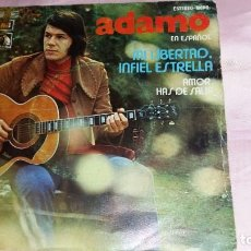 Discos de vinilo: ADAMO - SINGLE SPAIN PROMO - VER FOTOS. Lote 207182207