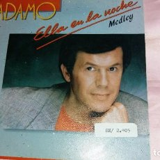 Discos de vinilo: ADAMO - SINGLE SPAIN PROMO - VER FOTOS. Lote 207182683