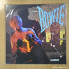 Disques de vinyle: DAVID BOWIE - LETS DANCE - LP. Lote 207187086