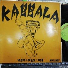 Discos de vinilo: KABBALA MAXI YEN-NBO-OSE ESPAÑA 1984. Lote 207190432