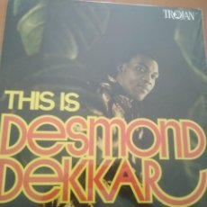Discos de vinilo: DESMOND DEKKAR THIS IS LP TROJAN 180GRAMOS. Lote 207195947