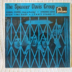 Discos de vinilo: THE SPENCER DAVIS GROUP - KEEP ON RUNNING (CORRE, CORRE) + 3 EP ESPAÑOL FONTANA DEL AÑO 1966. Lote 207198416
