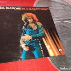 Discos de vinilo: NEIL DIAMOND HOT AUGUST NIGHT LIVE 2LP 1973 MCA ESPAÑA SPAIN GATEFOLD EXCELENTE ESTADO. Lote 207198595