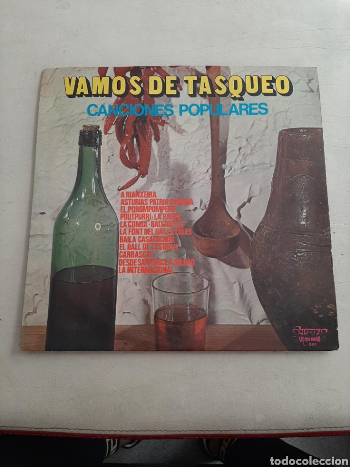 LP VAMOS DE TASQUEO - ANA KIRO, CARCOMA, TRIO COVADONGA, RUDY VENTURA, LOS VALLDEMOSA, ETC (Música - Discos - LP Vinilo - Country y Folk)