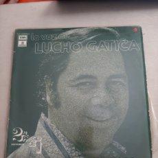 Discos de vinilo: VINILO DOBLE LP - LA VOZ DE LUCHO GATICA / EMI. Lote 207196065