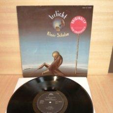 Discos de vinilo: KLAUS SCHULZE. IRRLICHT. PROGRESIVO ALEMÁN. 1972.. Lote 207201447