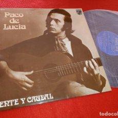 Discos de vinilo: PACO DE LUCIA FUENTE Y CAUDAL LP 1974 PHILIPS GUITARRA GUITAR EXCELENTE ESTADO. Lote 207204091