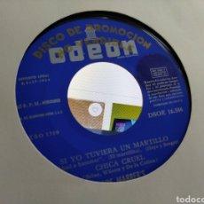 Discos de vinilo: LOS MABBER'S EP PROMOCIONAL SI YO TUVIERA UN MARTILLO + 3 1964. Lote 207205048