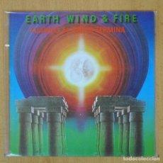 Discos de vinilo: EARTH WIND & FIRE - CUANDO EL AMOR TERMINA / ROCK THAT ! - SINGLE. Lote 207205371