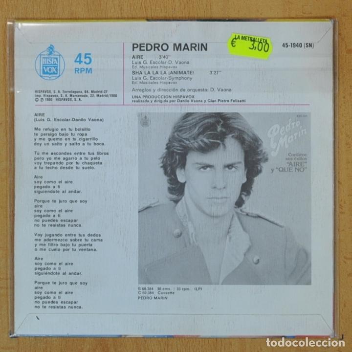 Pedro Marin Aire Single Vendido En Venta Directa 207205455