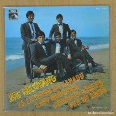 Discos de vinilo: LOS MUSTANG - LA LEYENDA DE XANADU + 3 - EP. Lote 207205747