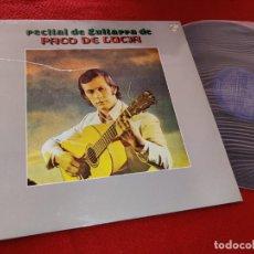 Discos de vinilo: PACO DE LUCIA RECITAL DE GUITARRA DE LP 1974 PHILIPS ESPAÑA SPAIN COMO NUEVO GUITARRA GUITAR. Lote 207206027
