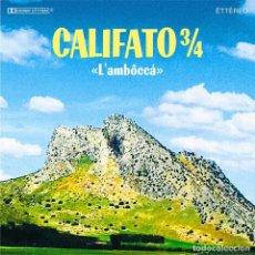 Discos de vinilo: CALIFATO ¾ – L'AMBÔCCÁ (BREAKING BASS RECORDS,LP, LTD, 2020) PRECINTADO!!. Lote 207206132