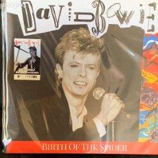Discos de vinilo: DAVID BOWIE - BIRTH OF SPIDER - 1 LP, ED. LIMITADA, VINILO BLANCO-HUESO SPLATTER. Lote 207207368