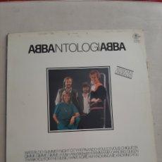 Discos de vinilo: DISCO DE VINILO ABBANTOLOGIABBA-VERSIONES ORIGINALES, 1982. Lote 207199867