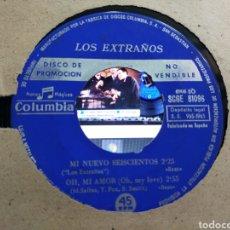 Discos de vinilo: LOS EXTRAÑOS EP PROMOCIONAL MI NUEVO SEISCIENTOS + 3 1965. Lote 207209727