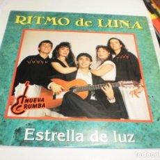 Discos de vinilo: LP RITMO DE LUNA. ESTRELLA DE LUZ. OPEN RECORDS 1992 SPAIN (PROBADO, BIEN, SEMINUEVO). Lote 207213051