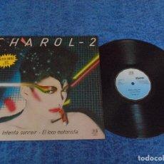 """Discos de vinilo: CHAROL-2 SPAIN 12"""" MAXI 1982 INTENTA SONREIR EL LOCO MOTORISTA POP ROCK MOVIDA MADRILEÑA NUEVA OLA. Lote 207214827"""