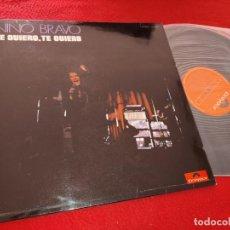 Discos de vinilo: NINO BRAVO TE QUIERO TE QUIERO LP 1970 POLYDOR EXCELENTE ESTADO. Lote 207214931