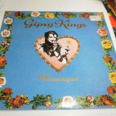 Discos de vinilo: LP GIPSY KINGS. MOSAÏQUE CBS1989 SPAIN CON FUNDA INTERIOR CON LETRAS (PROBADO, BIEN).. Lote 207216652