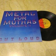 Discos de vinilo: METAL FOR MUTHAS VOLUME II-LP-EMI – OC 062-07 293-UK-1980-RECOPILATORIO- HARD ROCK, HEAVY METAL-. Lote 207217145