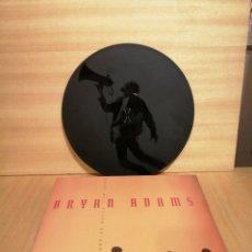 Discos de vinilo: BRYAN ADANS. THERE WILL NEVER.. 12'' 45 RPM, SINGLE ETCHED (GRABADO). 1991.. Lote 207217608
