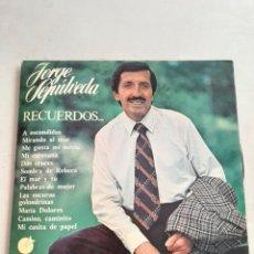 Discos de vinilo: LP DE JORGE SEPULVEDA ''RECUERDOS''-1977. Lote 207208333
