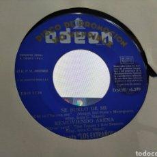 Discos de vinilo: LOS EXTRAÑOS EP PROMOCIONAL SE BURLÓ DE MI + 3 1964. Lote 207220397