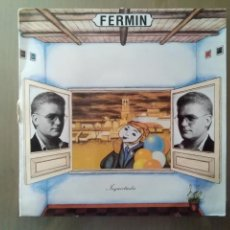 Discos de vinilo: LP FERMIN/ INQUIETUDES AÑO 1989. Lote 207221116