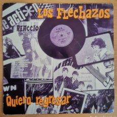 Discos de vinilo: LOS FLECHAZOS - QUIERO REGRESAR. Lote 207221818