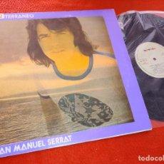 Discos de vinilo: JOAN MANUEL SERRAT MEDITERRANEO LP 1971 NOVOLA GATEFOLD CARPETA ABIERTA. Lote 207223141
