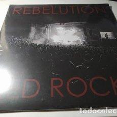 Discos de vinilo: LP - REBELUTION – LIVE AT RED ROCKS - ES-1053V - 2LP ( ¡¡ NUEVO!! ). Lote 207234046