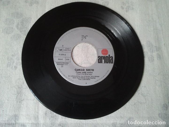 Discos de vinilo: Disco retro de vinilo de Camilo Sesto. - Foto 2 - 207234142