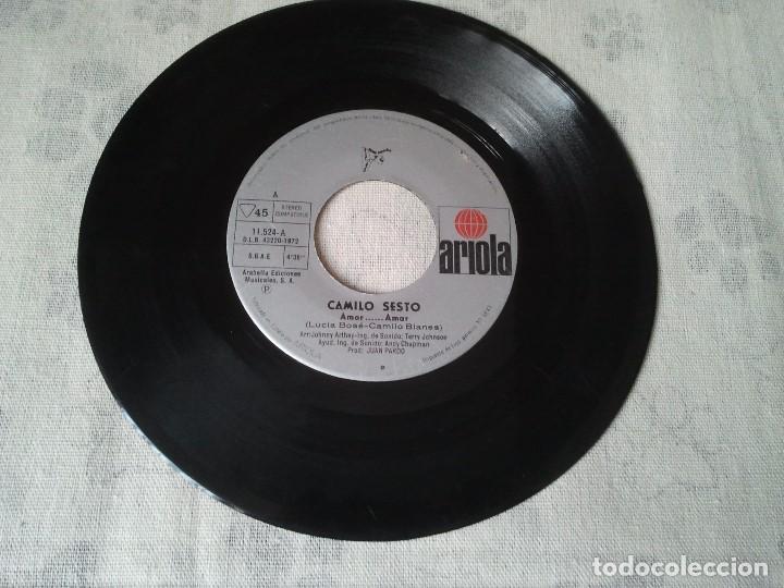Discos de vinilo: Disco retro de vinilo de Camilo Sesto. - Foto 3 - 207234142