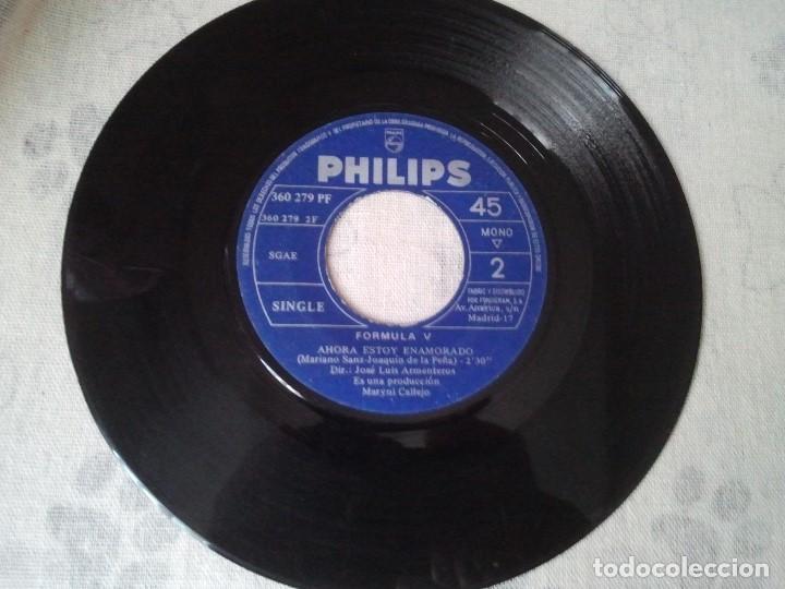 Discos de vinilo: Antiguo lote de discos retro de Formula V y Raphael (banda sonora El Golfo) - Foto 4 - 207235635
