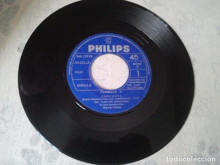 Discos de vinilo: Antiguo lote de discos retro de Formula V y Raphael (banda sonora El Golfo) - Foto 5 - 207235635