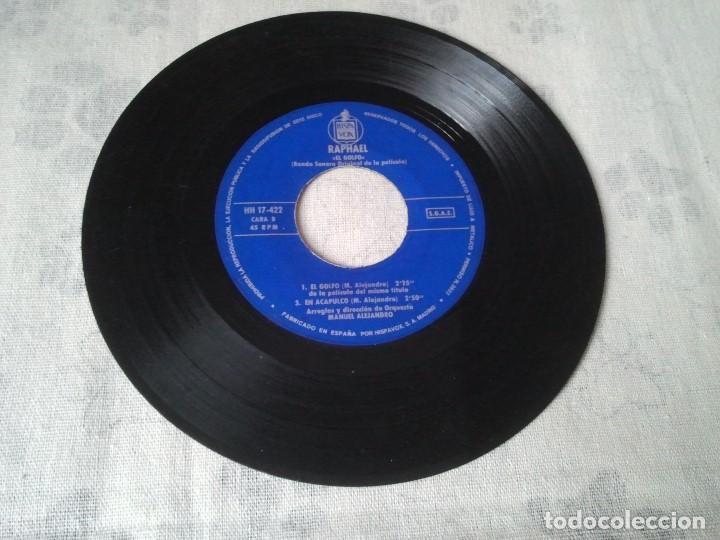 Discos de vinilo: Antiguo lote de discos retro de Formula V y Raphael (banda sonora El Golfo) - Foto 6 - 207235635