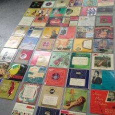 Discos de vinilo: LOTE DE 50 DISCOS VARIADOS. Lote 207237965