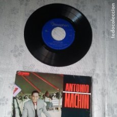 Discos de vinilo: ANTIGUO DISCO DE VINILO DE ANTONIO MACHÍN 45 RPM. DISCO RETRO DJ CANTANTE MUSICA. Lote 207240617