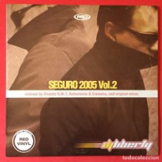 Discos de vinilo: DJ LIBERTY – SEGURO 2005 VOL. 2. Lote 207245362