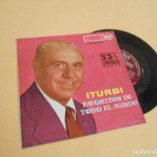 Discos de vinilo: ITURBI. FAVORITOS DE TODO EL MUNDO. EP.1961. Lote 207247933