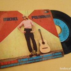 Discos de vinilo: MICHEL POLNAREFF. TA TA TA TA TA + 3. 1967. Lote 207248470