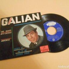 Discos de vinilo: EP FRANCISCO GALIAN. - MIS MANOS EN TU CINTURA + 3 - 1965. Lote 207249287