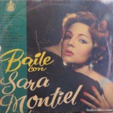 Discos de vinilo: SARA MONTIEL BAILE CON...HISPAVOX 1958. Lote 207253178