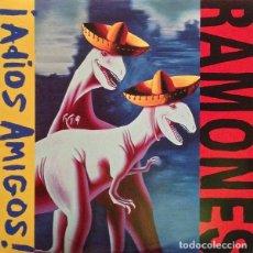 Discos de vinil: RAMONES LP ADIOS AMIGOS REEDICION VINILO MUY RARO COLECCIONISTA. Lote 207259988