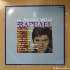 Discos de vinilo: RAPHAEL - EL DISCO DE ORO DE RAPHAEL - LP. Lote 207264867