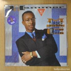 Discos de vinilo: MC HAMMER - PLEASE HAMMER DON T HURT EM - LP. Lote 207264991